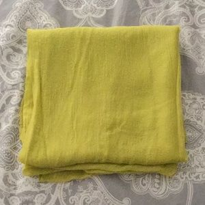 Accessories - Chartreuse Green Sheer Wrap